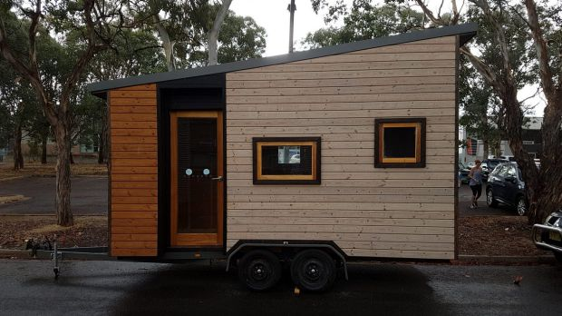 This tiny house stolen from Canberra, owned by business owner Julie Bray, has reportedly been spotted in Queensland.
