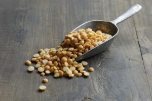 Yellow peas are inexpensive to grow and produce a surprisingly clean taste.