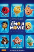 The poster for the film The Emoji Movie