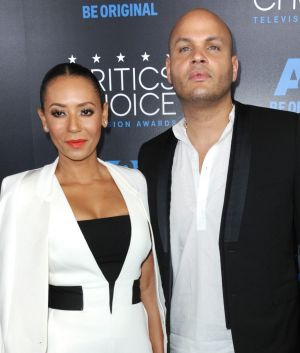 Melanie Brown with husband Stephen Belafonte in 2015.