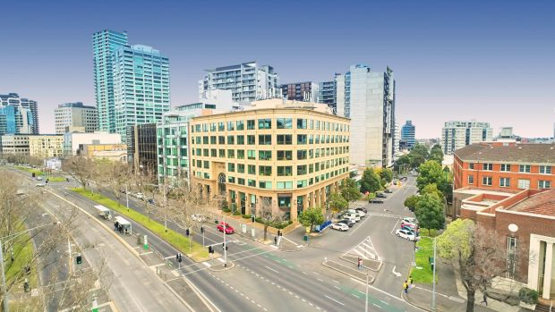 The Myer family are selling 312 St Kilda Road.