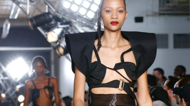 These Helmut Lang bras aren't what you'd call practical, but they might be brilliant