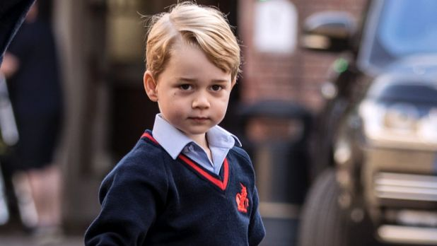 Royal fan accepts caution after trying to 'break into' Prince George's school