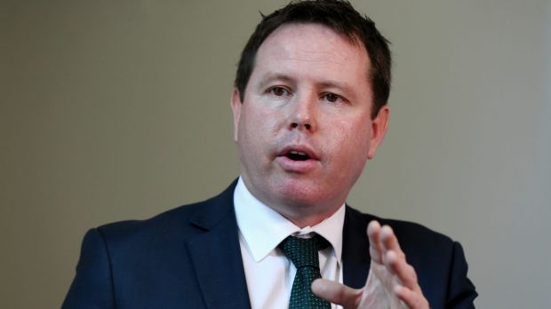 Nationals MP Andrew Broad.