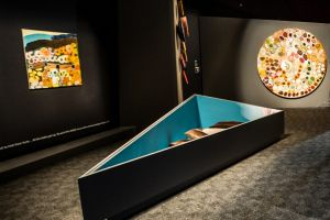 National Museum of Launch at the National Museum ofAustralia of the Songlines: tracking the Seven Sisters exhibition. ...