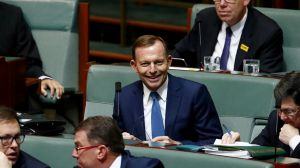 Former prime minister Tony Abbott has shown a willingness to resist change by any means possible.