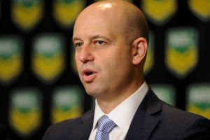 Confident: NRL CEO Todd Greenberg believes the 2018 draw can boost crowds.