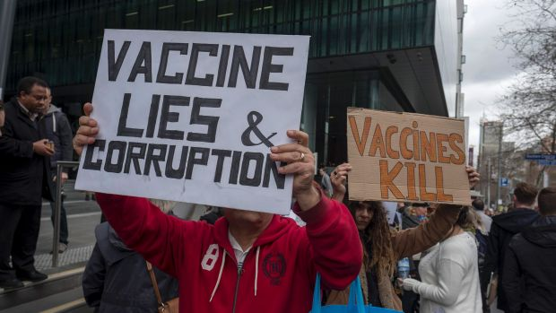 Calling them anti-vaxxers is too nice, and giving them equal say is dumb