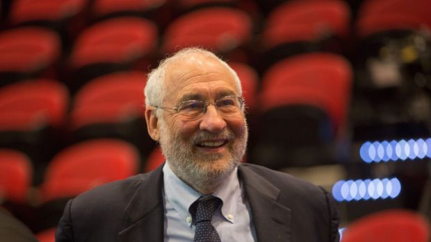 Nobel winner for economics Joseph Stiglitz.