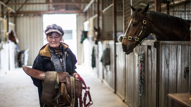 Udyta Clarke has spent 38 years as a country trainer.