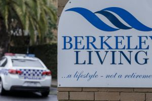 Concerns: Police are investigating the wellbeing of residents at Berkeley Living.