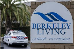 Police are investigating the well-being of residents at Berkeley Living.