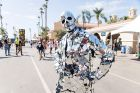 Performance artist seen at KAABOO 2017 at the Del Mar Racetrack and Fairgrounds on Friday, Sept. 15, 2017, in San Diego, ...