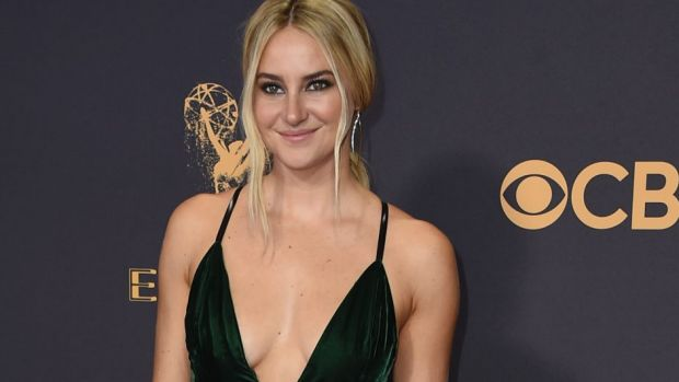 Shailene Woodley's comments did not go down well on the red carpet at the Emmy Awards.