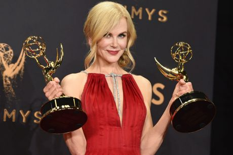 Nicole Kidman with the silverware, let her fashion and her impressive body of work do the talking at the Emmys.
