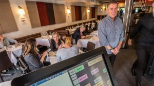 Ken Taylor is the owner of Templestowe Living Room restaurant.