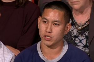 Audience member Alexander Lau stole the show with his rebuke of Liberal MP Michael Sukkar's anti-marriage equality argument.