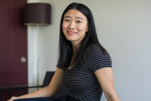 Yifan Zhang, a founder of the new start-up Loftium, in a room that she rents out through Airbnb at her home in Seattle.