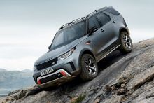 The Land Rover Discovery SVX was just one of the cars we can't wait to drive.