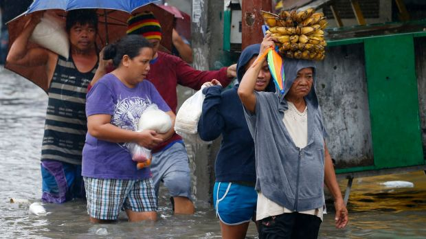 "Talim, named in the Philippines as ""Maring"", saw authorities suspend classes and some government offices to close in ..."