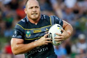 Shock return: Matt Scott has been named in North Queensland's squad to take on the Roosters.