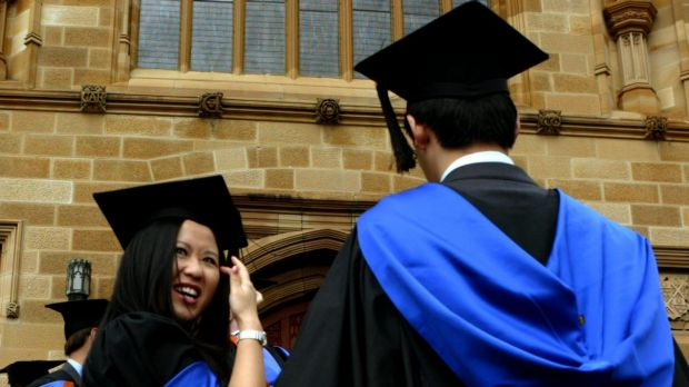 """Employers are far more happy with graduates from smaller universities than those from the bigger """"group of eight"""" ..."""