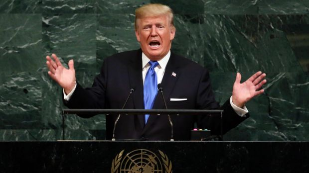 """Rocket man is on a suicide mission for himself and his regime"": Trump addresses the UN."