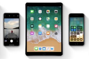 iOS 11 features a new-look Control Centre and a Mac-like dock for iPad.