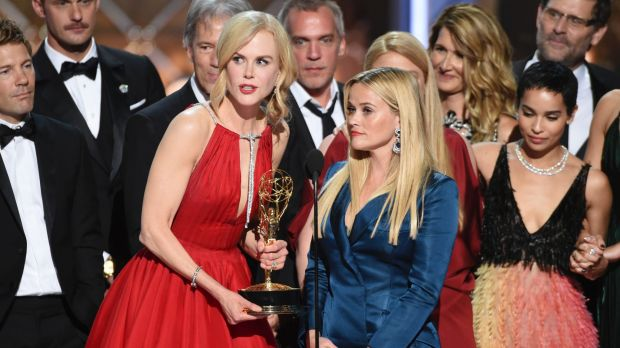 Nicole Kidman used her Emmys win to shine a light on domestic violence, a theme of 'Big Little Lies'.
