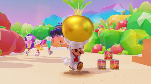 All kinds of fun little asides await in the food-themed Luncheon Kingdom.