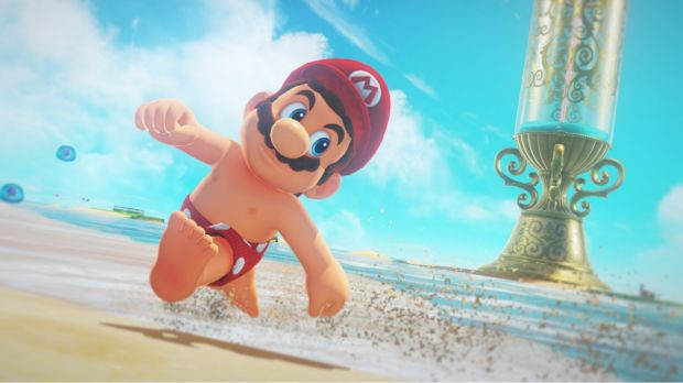 If you've always wanted to run around as shirtless Mario — and take pictures for posterity — you're in luck.