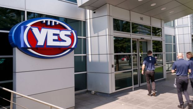 Threats cause evacuation at AFL headquarters in Docklands, Melbourne