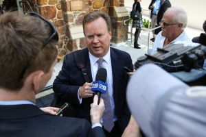 In the line of fire: ARU boss Bill Pulver refused to reveal what deals were done with the Rebels.