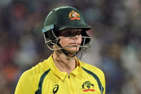 Steve Smith endured a tough limited overs tour of India.