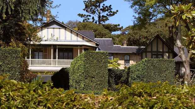 Fairwater, the harbourside home of the late Lady Fairfax, is valued at more than $  100 million.