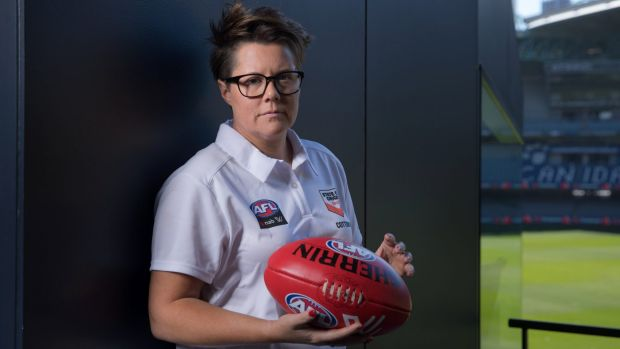 Helping hand: Bec Goddard will work with Australia's international rules team.