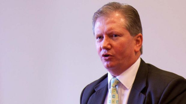 Brian Hay, the former head of the Queensland Police Service Fraud and Cyber Crime Group.