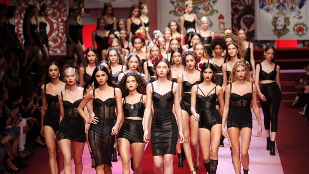 Dolce & Gabbana bring the love to Milan Fashion Week