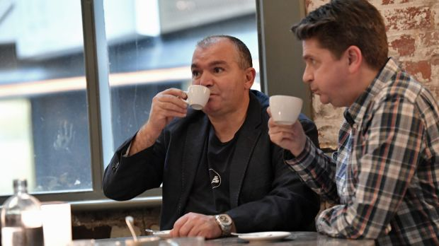 Rocky Veneziano and Craig Dickson are co-owners of Veneziano Coffee.