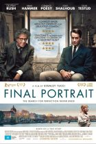 Poster for the film Final Portrait.
