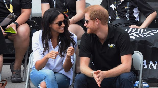 Prince Harry, Meghan Markle cosy up at Invictus Games