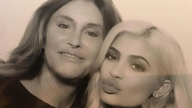 Of course Caitlyn Jenner is the one to confirm daughter Kylie Jenner's pregnancy