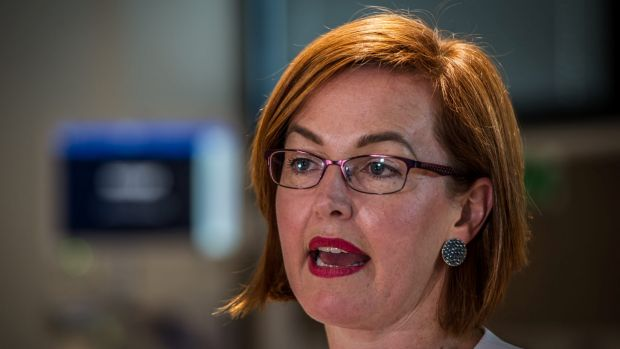 ACT Minister for Health, Meegan Fitzharris.
