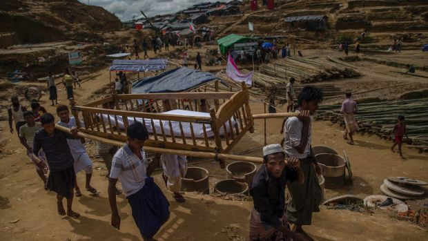 United Nations boss presses Myanmar on Rohingya crisis