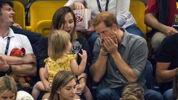 Prince Harry Robbed Blind By Tiny Popcorn Thief