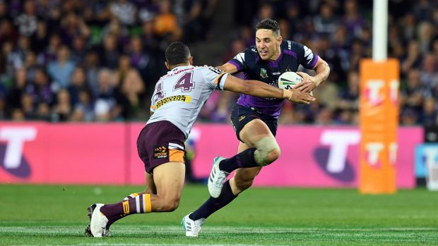 NRL Grand Final: Super Storm spoil Cowboys' fairytale with runaway victory