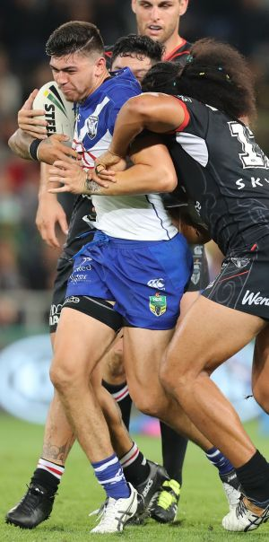 Bulldogs fullback Brad Abbey is close to joining the Green Machine.
