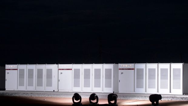 Tesla's South Australian installation will be the world's largest single battery storage.