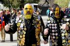 Richmond fans Richo and Paul.