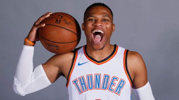 Russel Westbrook signs 5-year extension with Thunder, according to ESPN